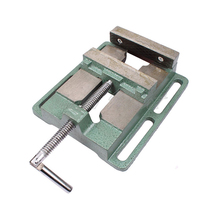 5 Inch Drilling Machine Vise Woodworking Simple Pliers Table A Flat Nose Clamp Drill Multifunction Hand Tools