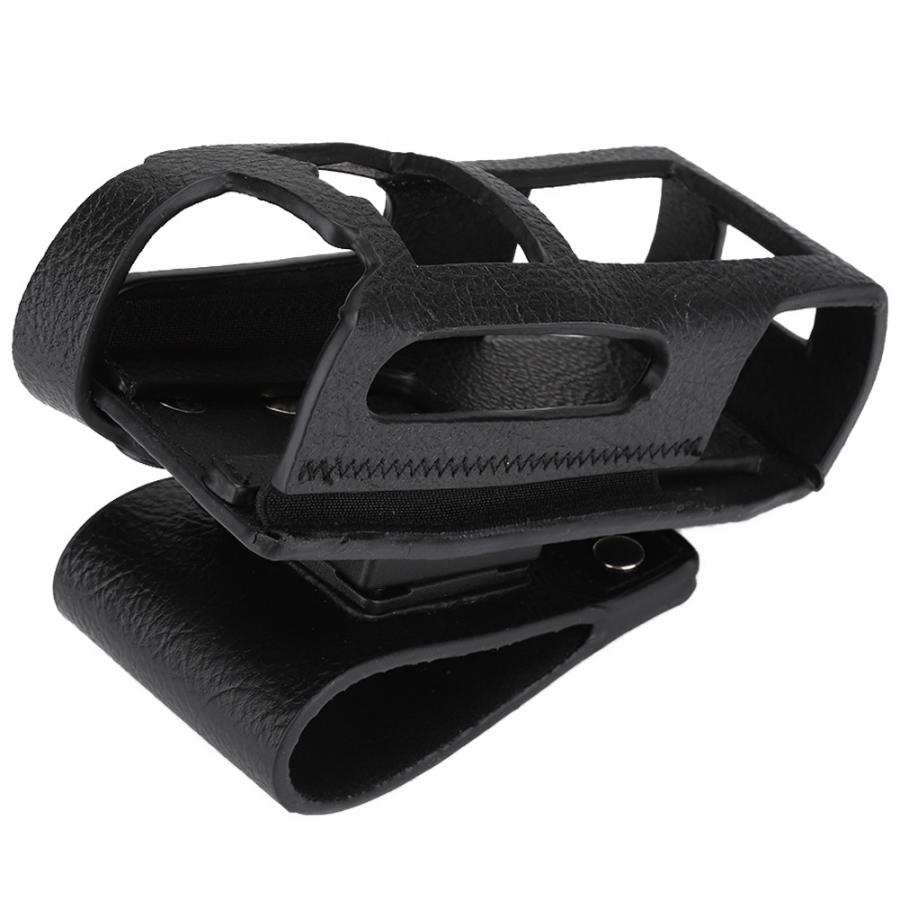 Portable Walkie Talkie  Walkie-Talkie Hard Leather Case Cover Suitable For Motorola MTP3000 MTP3100 MTP3150