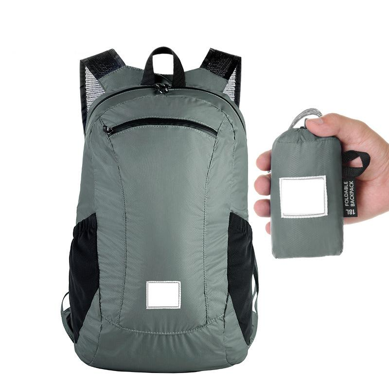 Outdoor Waterproof Backpack Foldable Light Weight Bag For Camping Cycling