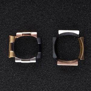 Image 4 - Yüksek kaliteli paslanmaz çelik sonu bağlantı Submaine Explorer GMT gün tona katma değerli kombinasyon kordonlu saat konnektörler araçları