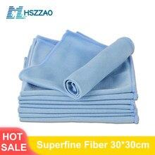 Limpeza de lavagem de carro toalha de microfibra macia carro detalhando pano de microfibra pano absorvente pano de pano de limpeza