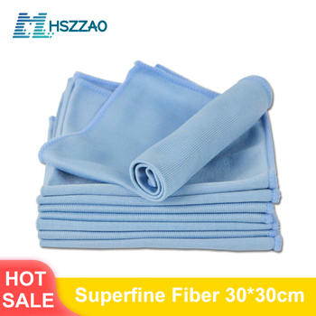 Car Wash Cleaning Soft Microfiber Towel Car Detailing Microfiber Rag Absorbent Dish Towel Wipe Cloth Glasses Cloth no trace absorbable 3 size soft microfiber no lint window car rag cleaning towel kitchen cleaning cloth wipes wipe glass cloth