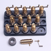 1Set Watch Mainspring Winding Winder Accessory Replacement Barrels Repairing Tools for 3135/2836/8200 Movement