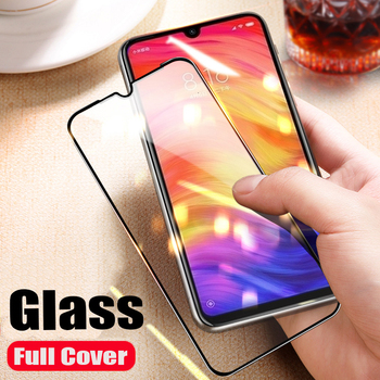 3D Tempered Glass For Redmi Note 8 8 Pro 7 6 Note 5A 4 4X Note 7S Full Coverage Screen Protector Protective Cover Film 100Pcs