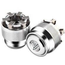 Universal sleeve 3/8 inch 10-19 mm Adjustable Hex universal Socket Torque Ratchet Wrench Head Spanner Sleeve Repair Tool