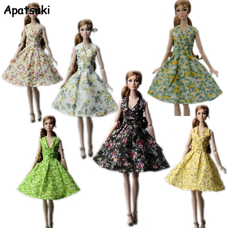 "10pcs//lot Beautiful Handmade Pretty Dress For 11.5/"" Doll Clothes Fashion Outfit"