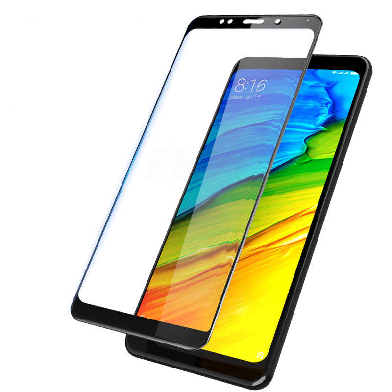 2PCS For Xiaomi Redmi 5 Plus REDMI Note 5 Tempered glass Screen Protector 9h Safety Protective Cover On NOTE5 pelicula de vidro