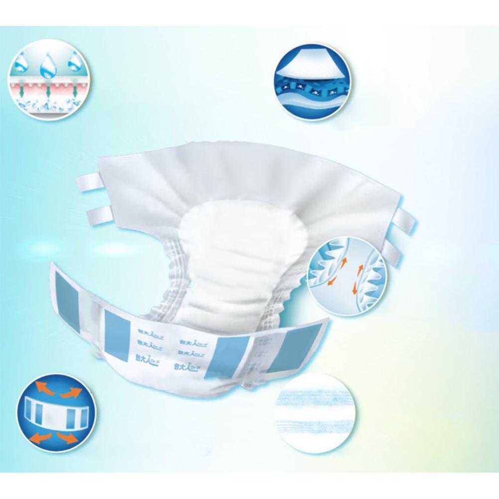 1300ml Real Cloth Pocket Adult Diaper Nappy Diaper Baby Cotton Adult Diaper Pants Menstrual Pad Serviette Hygienique Lavable