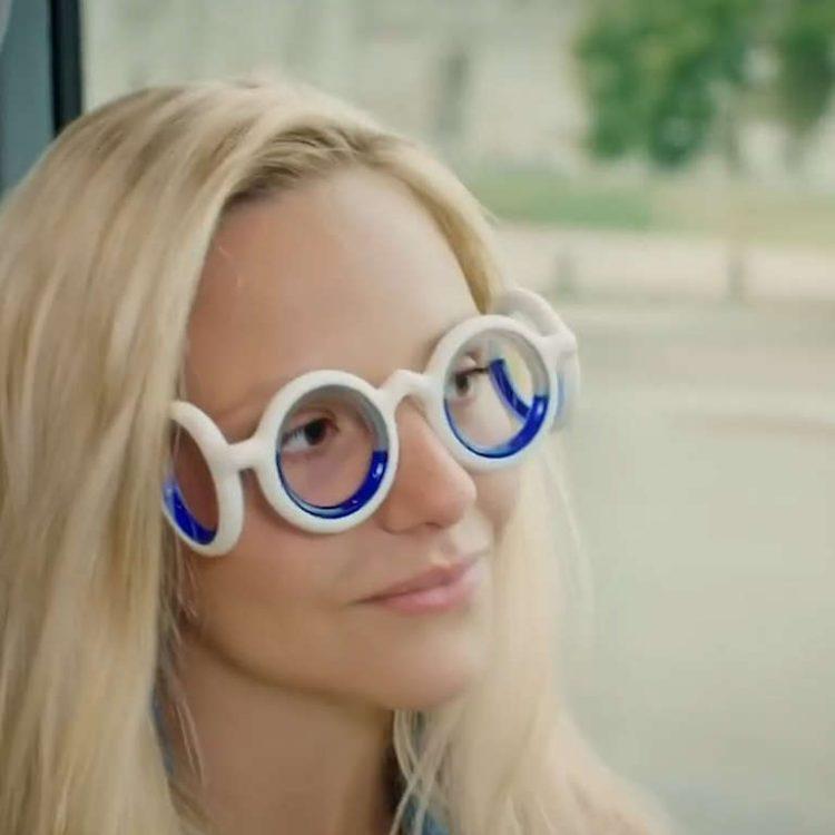 Removable Folding, Portable Illness Outdoor Glasses, Anti-sports Disease, Glasses, Smart Halo, Airsickness, Liquid