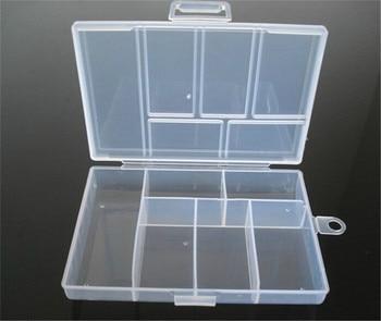 Plastic Jewelry Boxes Tool Box Adjustable Craft Organizer Storage Beads Bracelet Packaging Wholesale