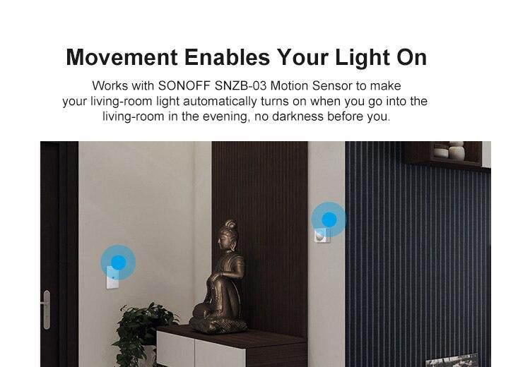 H987608308e704ed586559947e4dea86cW - SONOFF ZigBee Bridge Wireless Door/Window Sensor Alert Notification Via EWeLink APP Control Smart Home Security Switch