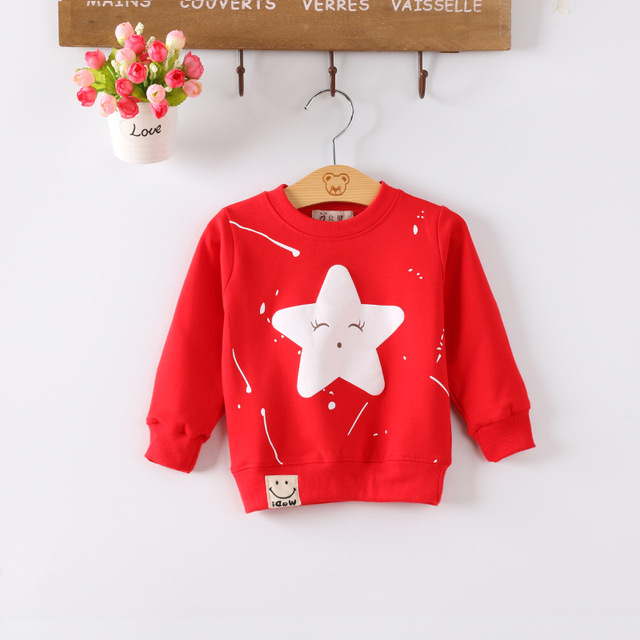 Kids Baby Boys Girls Hoodie Clothes Clothing Infant Sweatshirts 1