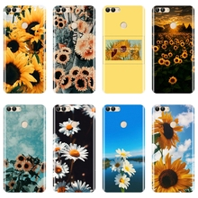 Phone Case For Huawei P8 P9 P10 P20 Lite 2017 Silicone Sunfl