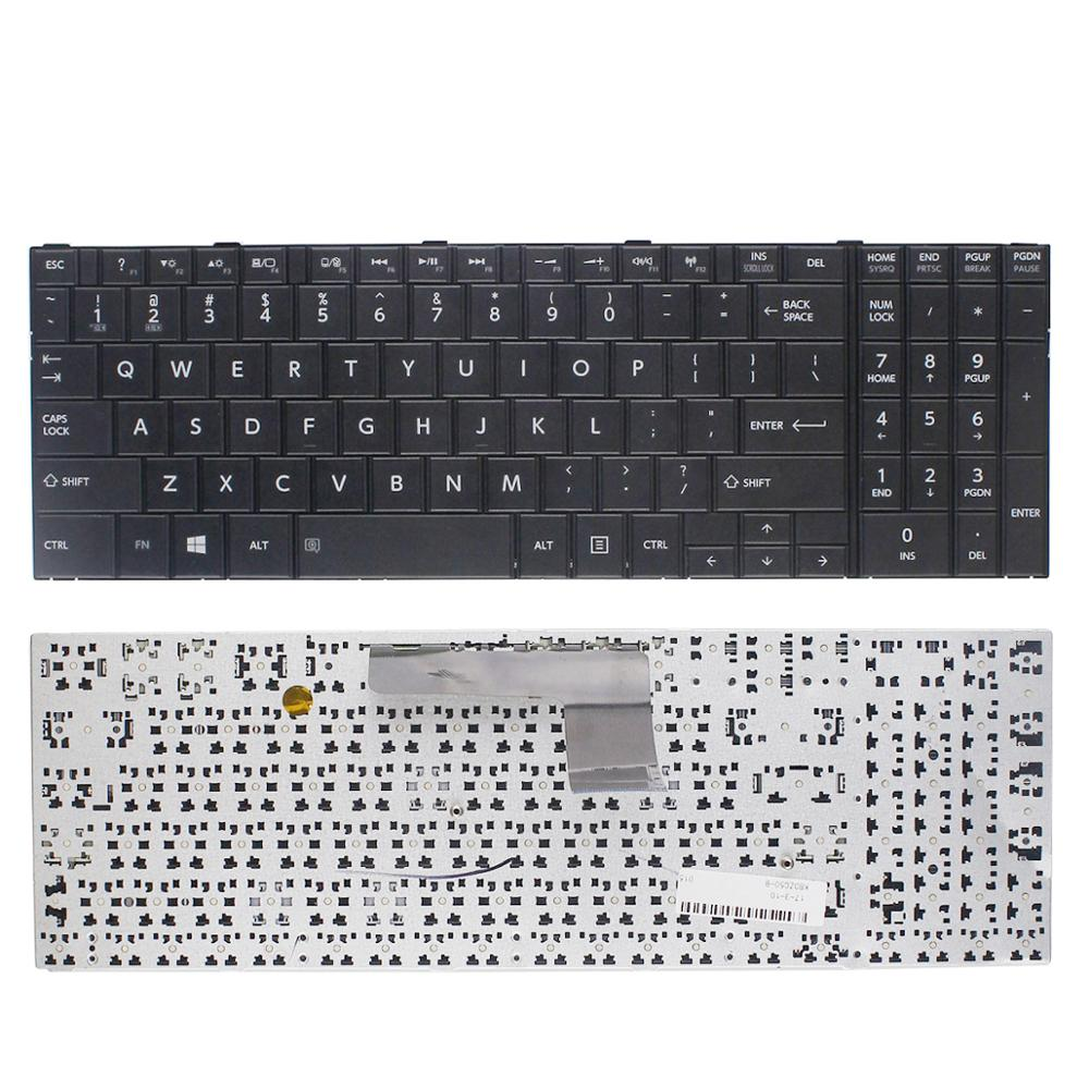 New Keyboard Replacement For <font><b>Toshiba</b></font> <font><b>Satellite</b></font> C50-B C50D-B <font><b>C55</b></font>-B C55D-B Laptop image