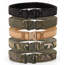 2020 New Army Style Combat Belts Quick Release Tactical Belt Fashion M