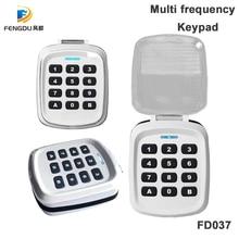 Multi frequency 280-868mhz Remote Controller Calculator Door Lock Wireless Security Keypad
