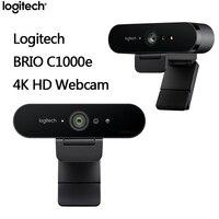 BRIO C1000e 4K HD Webcam Video Logitech Original Conference Streaming Recording Computer Peripherals