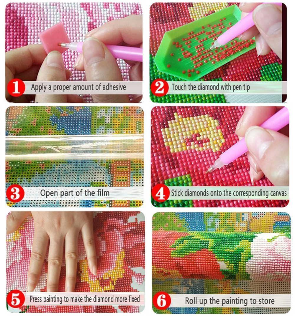 Neu Kommt 5D Diamant Malerei Cartoon Kreuz Stich Lion & Stich Diamant Stickerei Bild Anime Mosaik Kinder Decor Geschenk