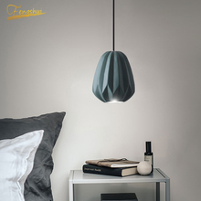 Nordic LED Diamond Pendant Lamp Lighting Fixture Modern Lights Attic Restaurant Hotel Living Room Bedroom Hanging Lamp Luminaria