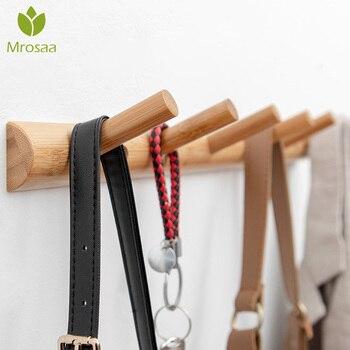 Solid Wood Wall Hooks  1