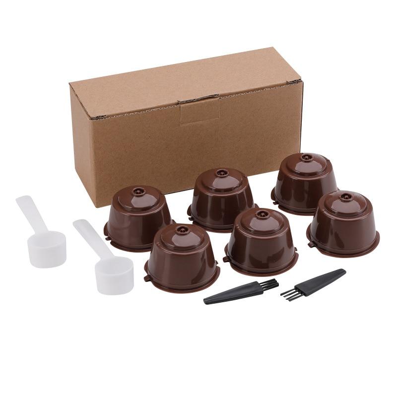 3 шт./компл. Кофе машина многоразовые капсулы с фильтром для Кофе чашка фильтр для Nescafe многоразового Кофе подстаканник Pod Водяной фильтр для ...