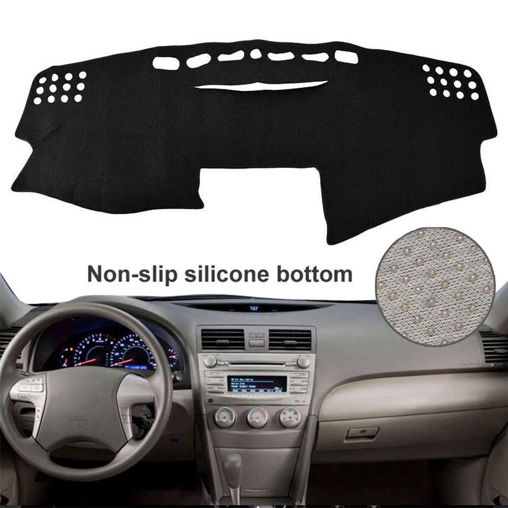 Non-Slip Dashmat Dash Cover For Toyota Camry 2007-2011 Dashboard Carpet Gray Mat