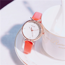 Cherry Blossom Powder Girl Heart Watch Student Simple Korean Version Casual Atmosphere Fashion Trend Watch Bracelet Gift Relogio