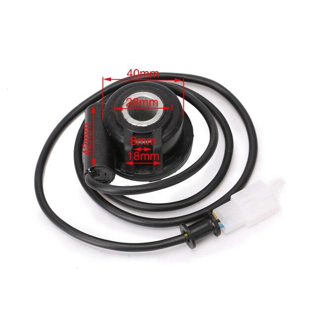 Câble de capteur 1X + 2X fils magnétiques | Pour moto, odomètre de vtt numérique, tachymètre, accessoires partie de remplacement
