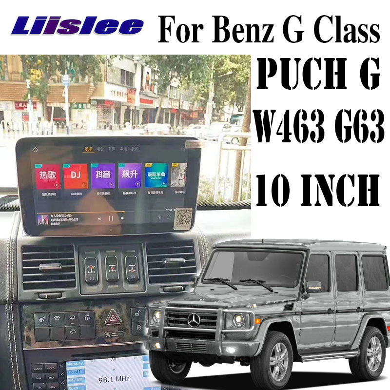 For Mercedes Benz MB Puch G Class W463 G63 350 AMG 1997~2012 Liislee Car Multimedia Player NAVI Car Radio Stereo GPS Navigation
