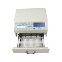 Mini blatt-freies desktop reflow-ofen QS-5100 600W automatische löten herd SMD SMT rework solder bereich 180 * 120mm