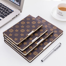 Senior business stationery notebook retro hard copy B5A5B6A6 notepad small body with office