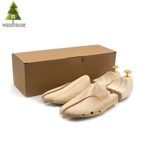 Image 4 - Woodhouse Mens and Womens Shoe Trees Twin Tube Adjustable New Zealand Pine Wood Shoe Tree