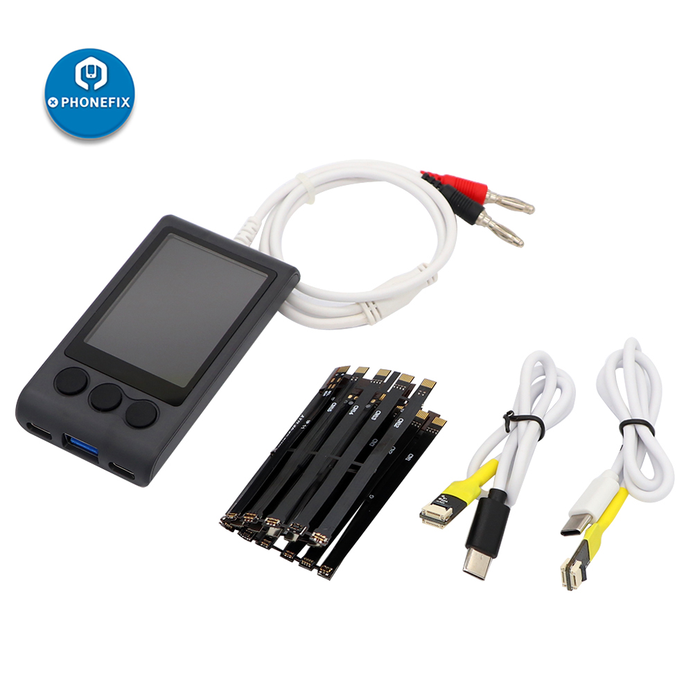 Mechanic Ibootpower Smart Display DC Power Cable Test Box Repair Set For IPhone&Android Phones Power On Charge Test Cable