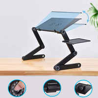 Laptop Desk 360 Degree Adjustable Folding Laptop Notebook PC Desk Table Stand Portable Bed Tray ALL-3