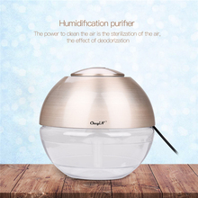 USB Ultrasonic Air Humidifier Office HEPA Filter Remove Dust Smoke Air Cleaner Essential Oil Diffuser Electric Air Freshener 0