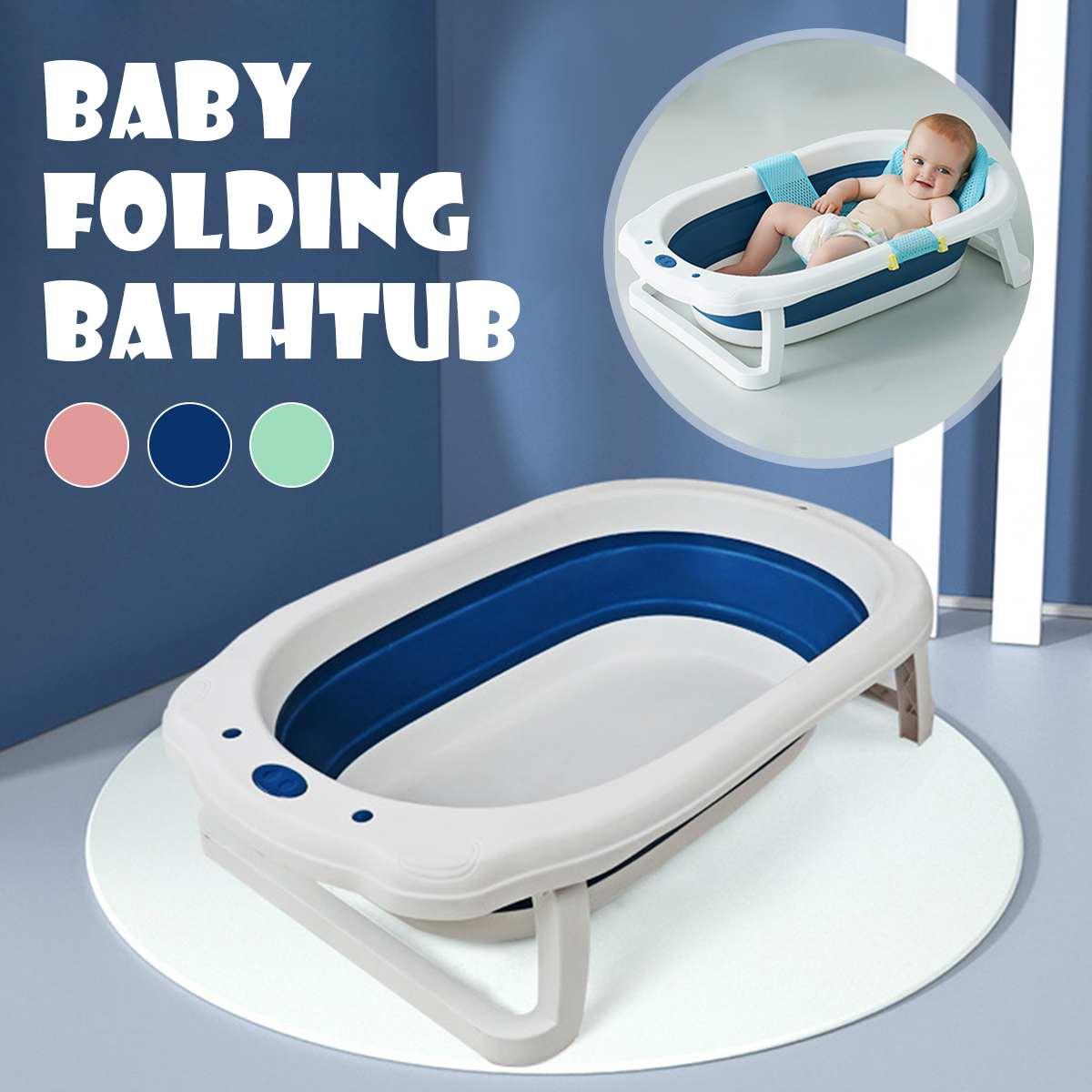 Foldable Baby Shower Tub Infant Newborn Bath Tubs Baby Non-Slip Widen Thicken Kid Bathtubs Portable Bathtub New Arrival 2020