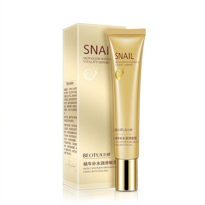 20G Hot Snail Eye Cream Whitening Moisturizing Anti-aging Wrinkle Remove Dark Circles Snail Cream Skin Care