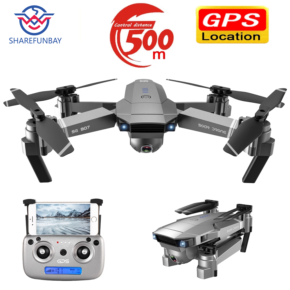 Dron SG907 GPS Drone Camera HD 4k 1080P 5G WIFI Dual Camera Electronic Anti-shake Character Follow Quadcopter Drone With Camera