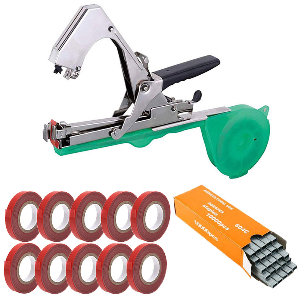 Garden Tools Garter Plants Plant Branch Hand Tying Binding Machine Minced Vegetable Tapetool Tapener Tapes Home Garden