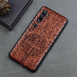 Image 3 - Phone Case For Xiaomi Mi Note 10 Pro Original Boogic Wood TPU Case For Xiaomi Mi Note10 Note 10 Pro Phone Accessories