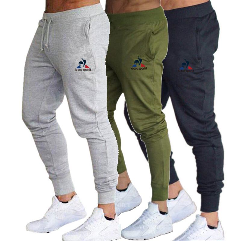 Brand Sportswear Men Joggers Training Sport Pants Gym Fitness Jogging Pants Men Solid GYM Training Pants Autumn Running Pants