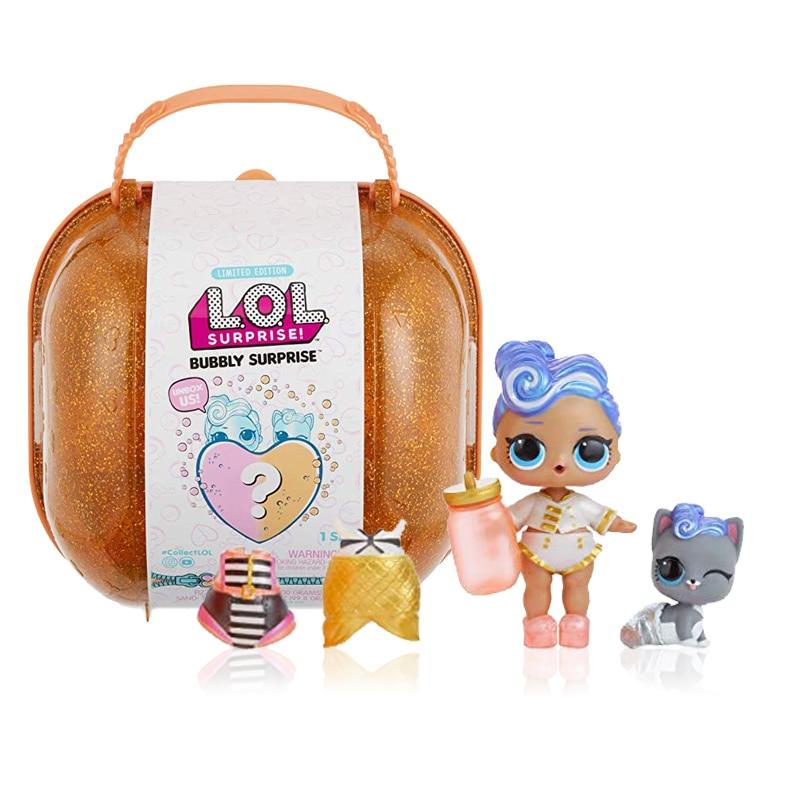 L.O.L. SURPRISE! Original LOL Surprise Doll Bubble Set Blind Box Bath Discolor Dress Up Fashion Cute Baby Girl Child Toy Gift