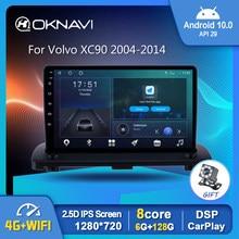 Android 10,0 Auto Radio Video Player Für Volvo XC90 2004-2014 Auto GPS Stereo Navigation DSP OBD 4G 6G 128G Carplay Keine 2 din DVD