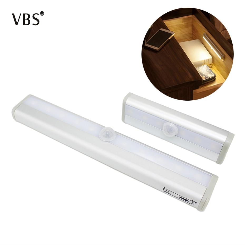 LED Motion PIR Sensor Light DC3V/6V 15S Delay Time Automatic Light Sensing Night Light IR Infrared Induction LED Night Lamp