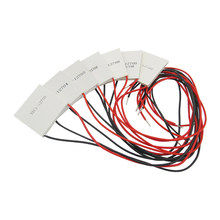 TEC1-12706 12703 12704 12705 12708 12709 12710 12712 12715 40*40MM 12V Peltier Termoelétrica Refrigerador Peltier Elemente Módulo