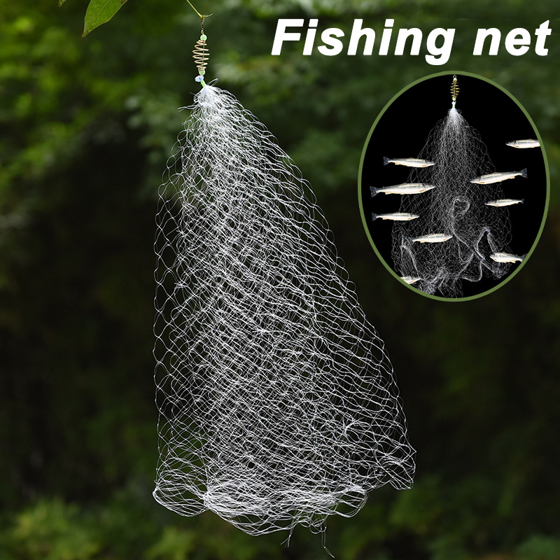 Newly 3pcs Play Stair Design Fishing Mesh Net Safe Nylon Accessories BFE88