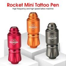 Mini stylo de tatouage de fusée avec le moteur puissant de taille courte pour la mitrailleuse rotatoire de revêtement et dombrage