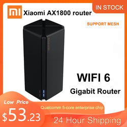 Xiaomi Router AX1800 Qualcomm five-Core wifi6 2,4G 5,0 GHz Full Gigabit 5G Dual-Frequency Home Wall-Penetrating king Mi Router