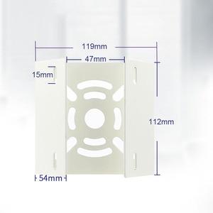 Image 4 - OwlCat מחוץ CCTV מצלמה ברזל חישוק סוגר וידאו מעקב מוט הרכבה טור מחזיק סטנט מתכת