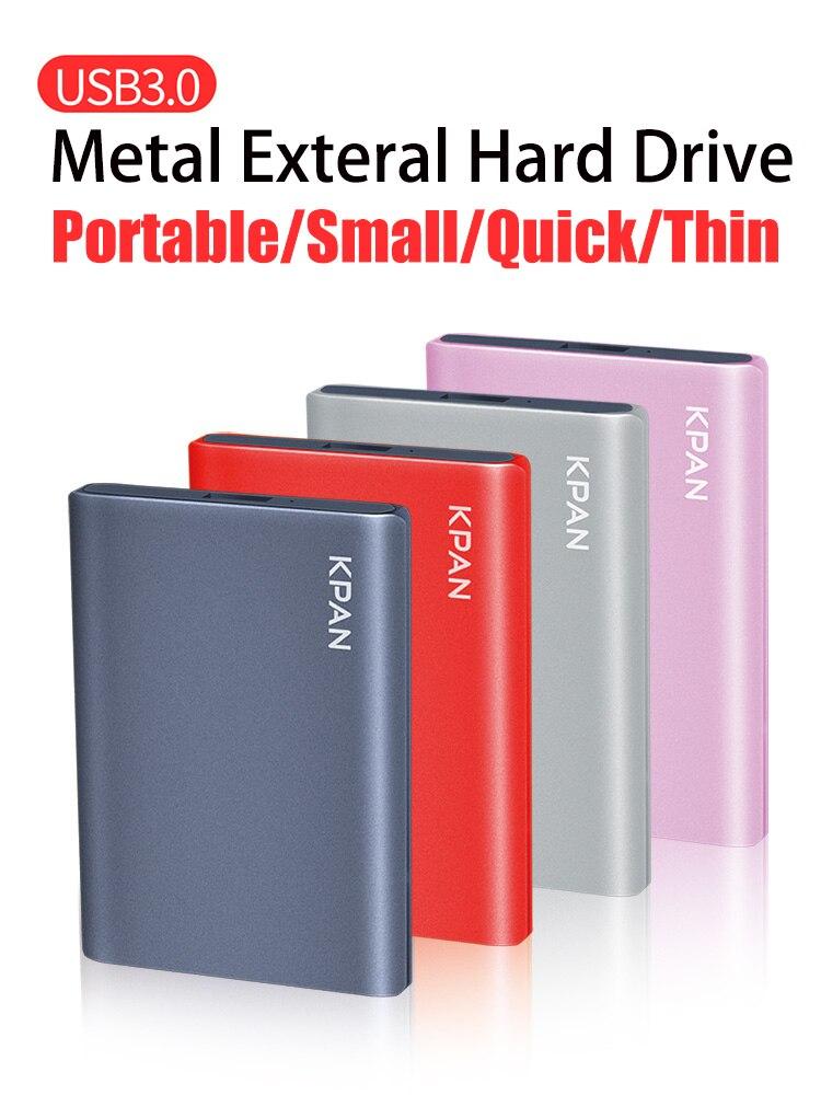 KPAN USB3.0 External Hard Disk HDD 2TB Hard Drive Disk 500GB 1TB 2.5
